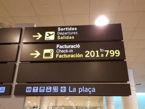 Aeropuerto de Barcelona, consejos para volar