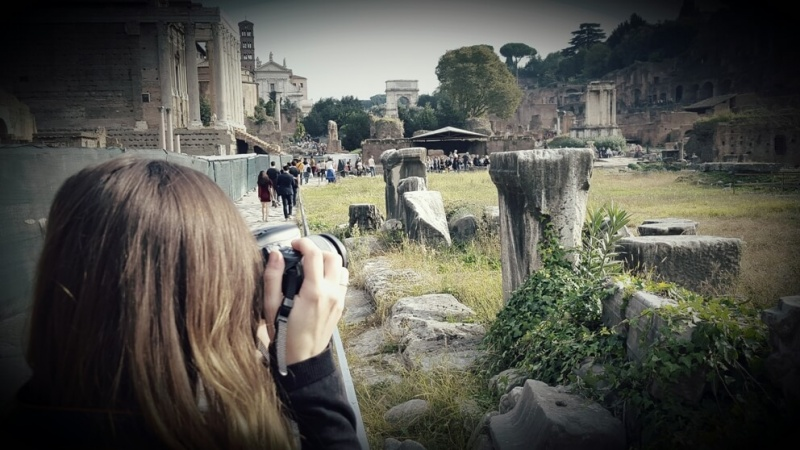 Fotografía viaje Roma 2015