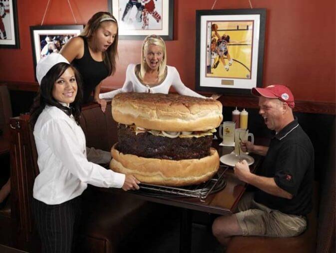Hamburguesa de 15kg en Sidney