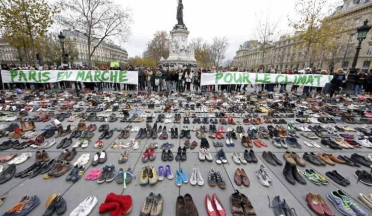 Protestas cambio climático parís