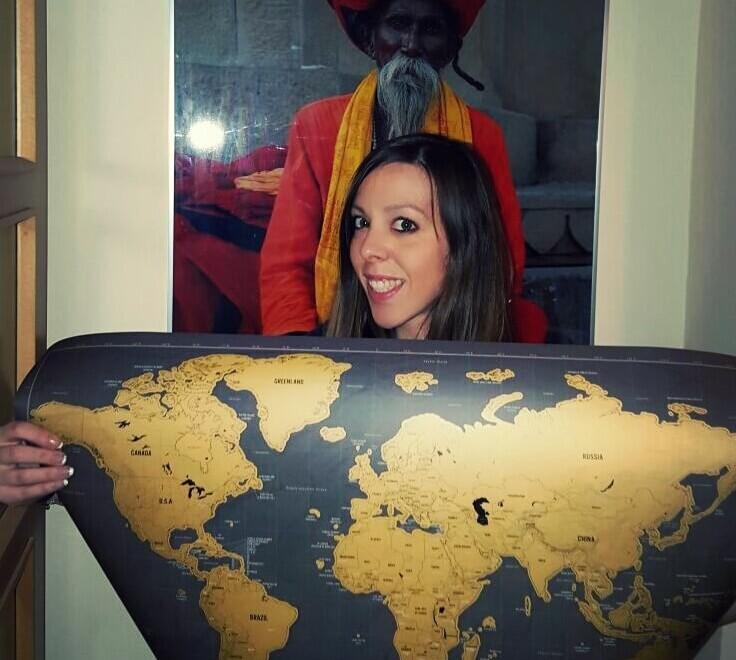 Scratch Map viajes para 2016