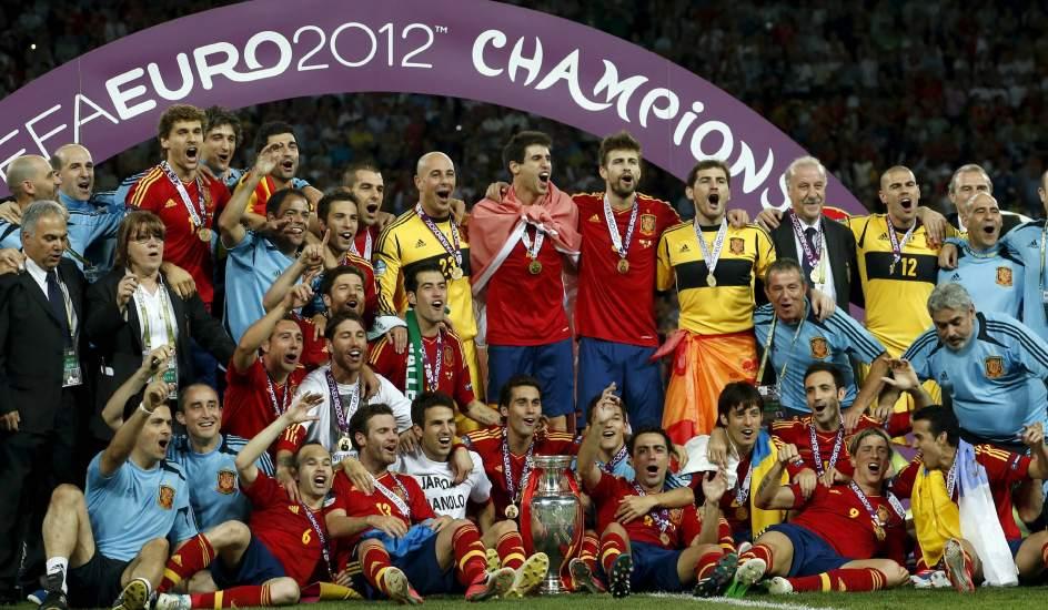 España campeona de Europa en Kiev