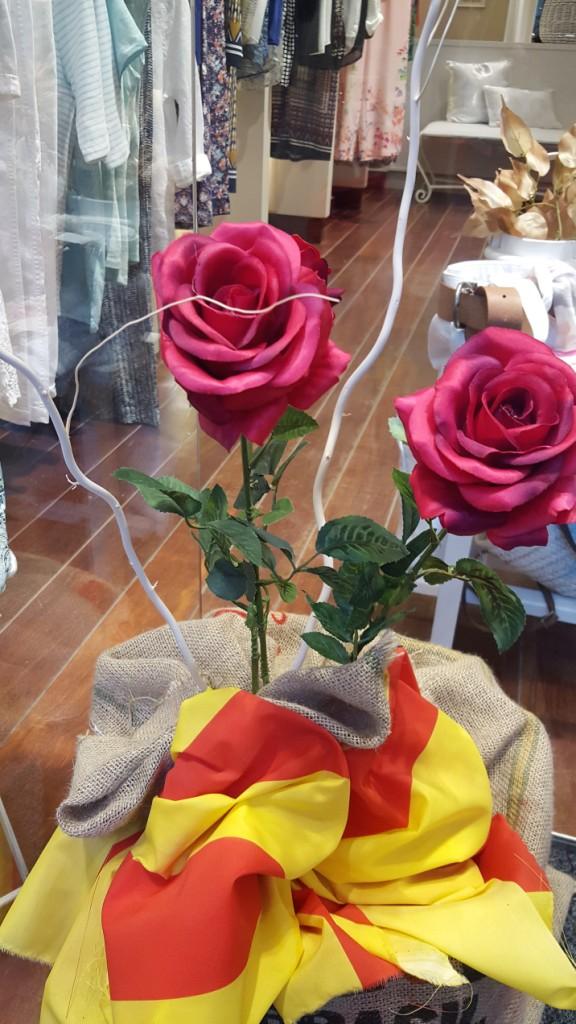Rosas de colores: decoración Sabadell