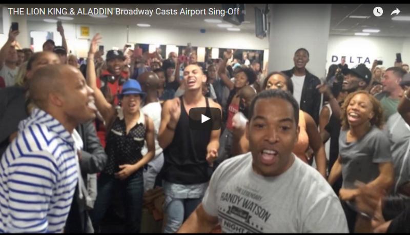 Broadway en el aeropuerto de la Guardia