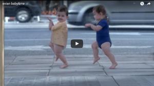 Video viral Evian