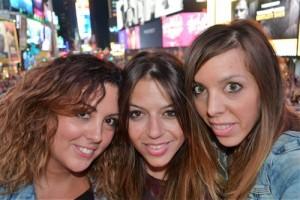 Nueva york con amigas: Times Square
