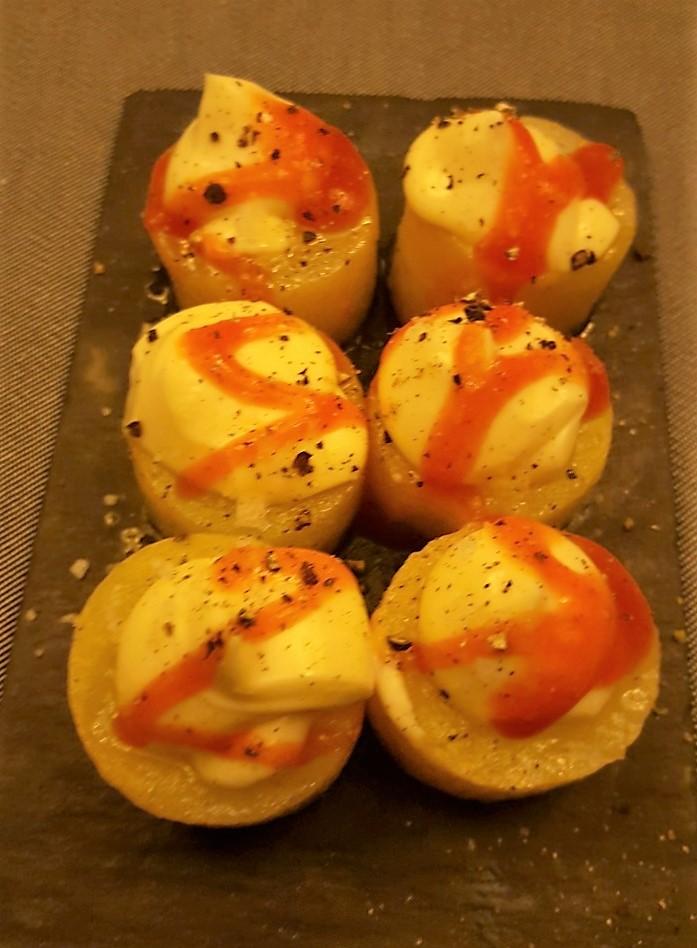 Patatas bravas del Ospí