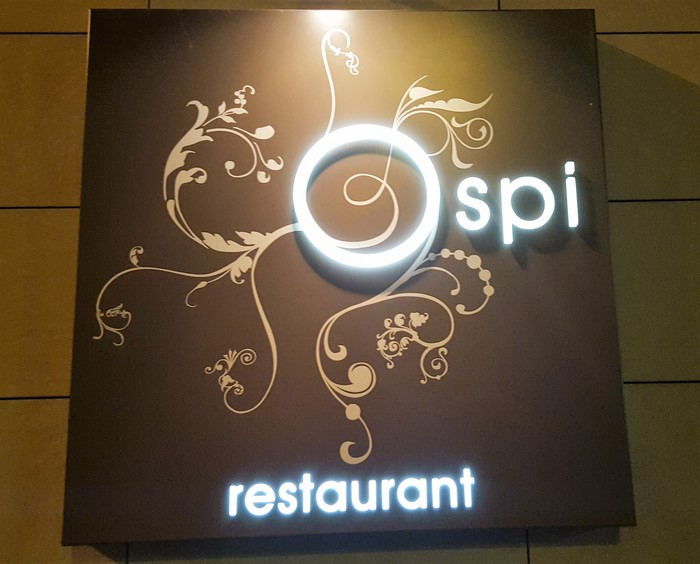 Ospi Restaurant: Oscar Piedra chef