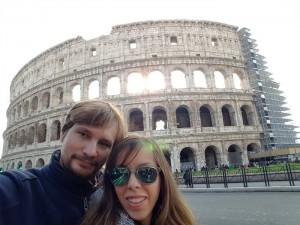 Colosseo: Roma en familia Judit Endrino y Daniel Otero