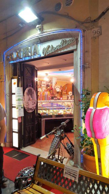 Gelateria Valentino en Roma, un helado para toda la familia