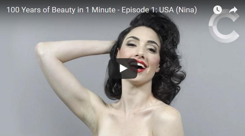 Video viral: belleza femenina
