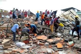 Donativo terremoto Ecuador