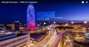 time-lapse barcelona