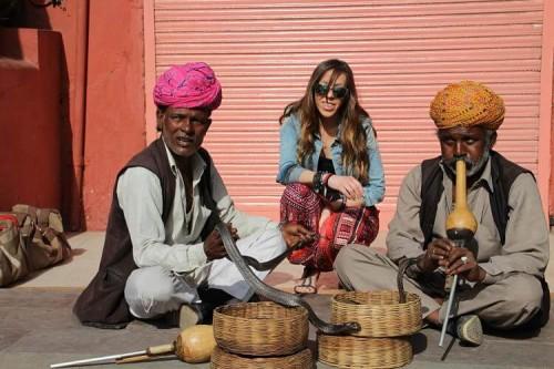 Encantador serpiente India
