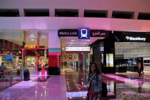 Estación de Metro Mall of Emirates Dubai
