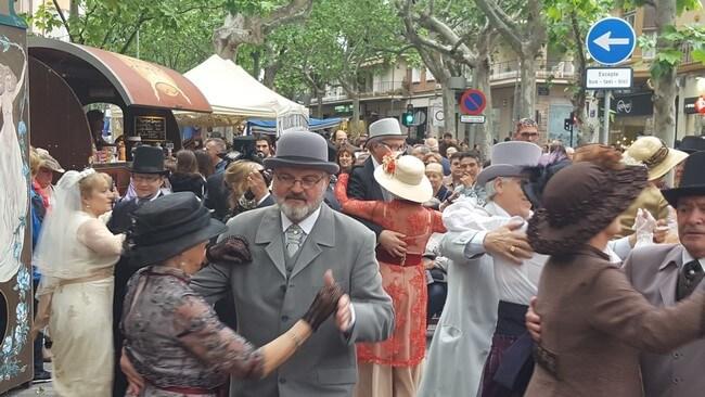 Fira Modernista Terrassa: bailes de época