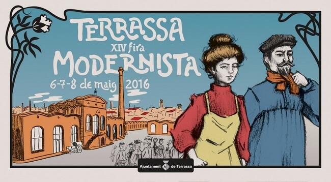Cartel Fira modernista Terrassa
