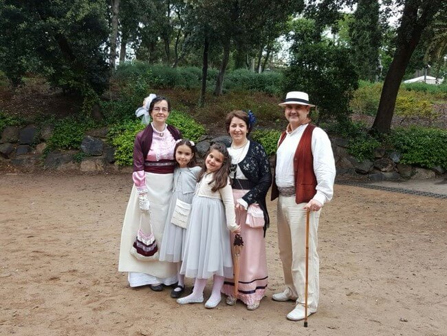 Fira Modernista Terrassa: fiesta familiar