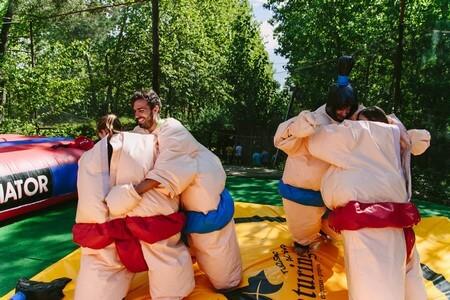 Humor Amarillo Barcelona Aventuring: Sumo
