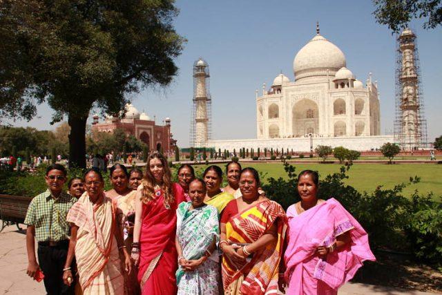 Fotos con gente en la India