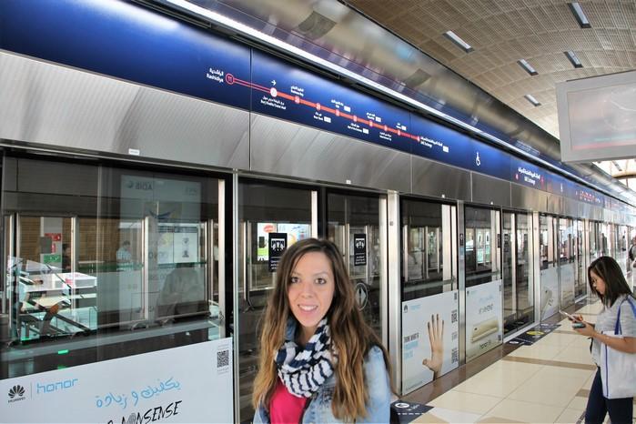 Metro de Dubai