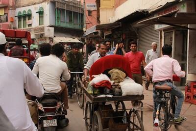 Nuestro Viaje a la India Nueva Delhi: caos