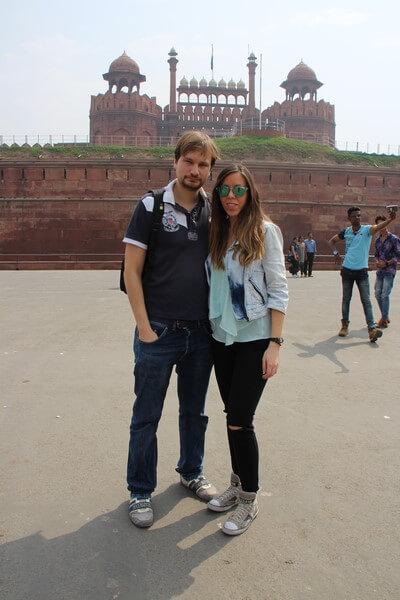 Nuestro Viaje a la India Nueva Delhi: Fuerte Rojo