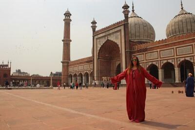 Nuestro Viaje a la India Nueva Delhi: Mezquita Jama