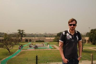 Nuestro Viaje a la India Nueva Delhi: Raj Ghat