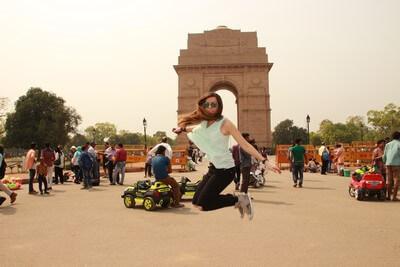Nuestro Viaje a la India Nueva Delhi: Puerta de la India