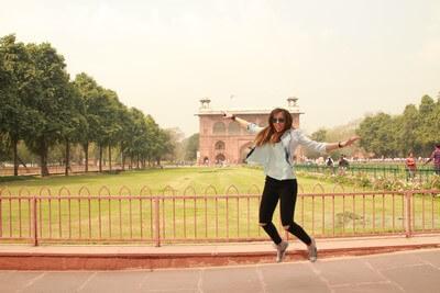 Nuestro Viaje a la India Nueva Delhi: Fuerte Rojo Interior