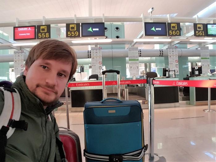 Vuelo Barcelona Dubai Fly Emirates