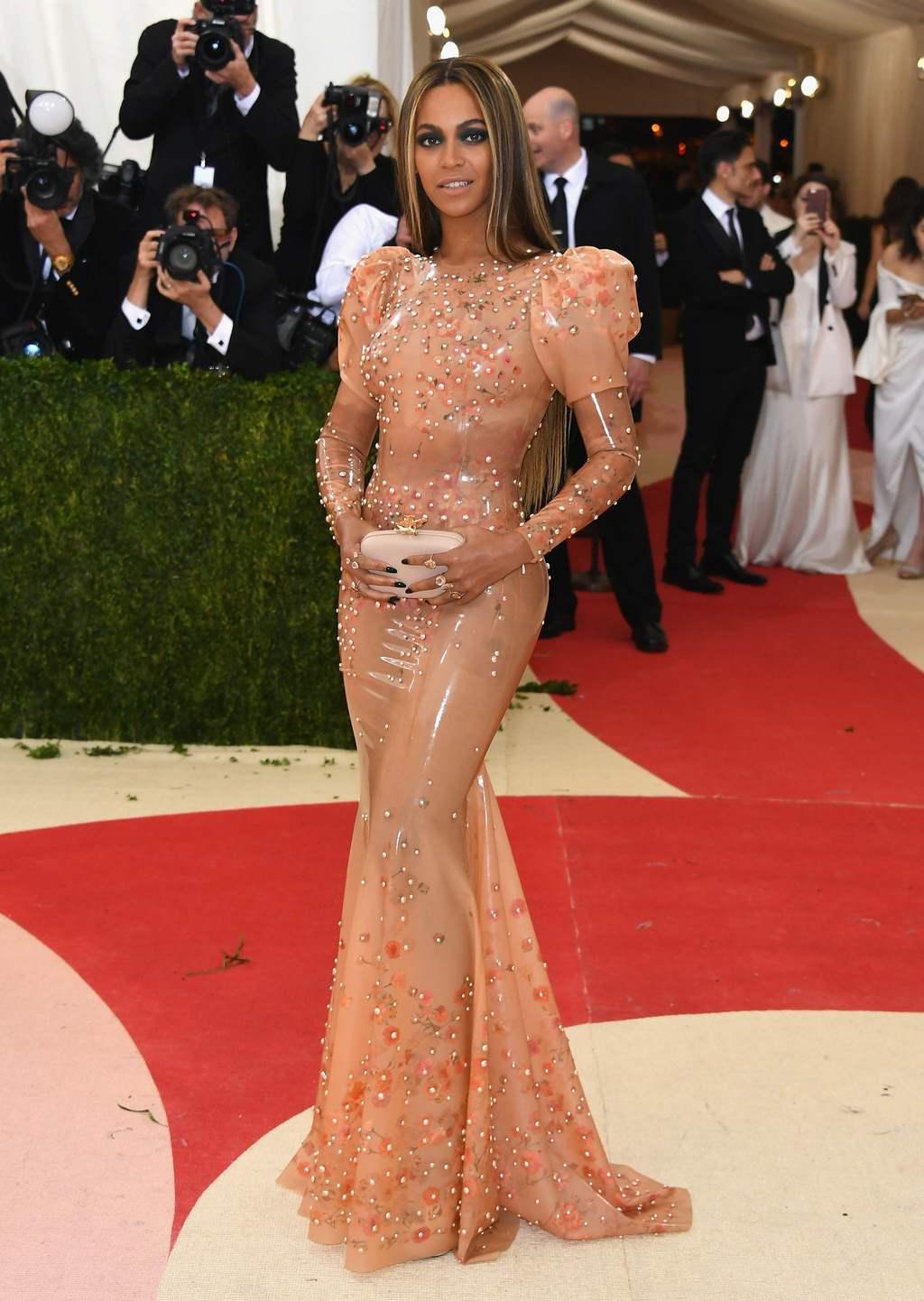 Beyonce en gala MET