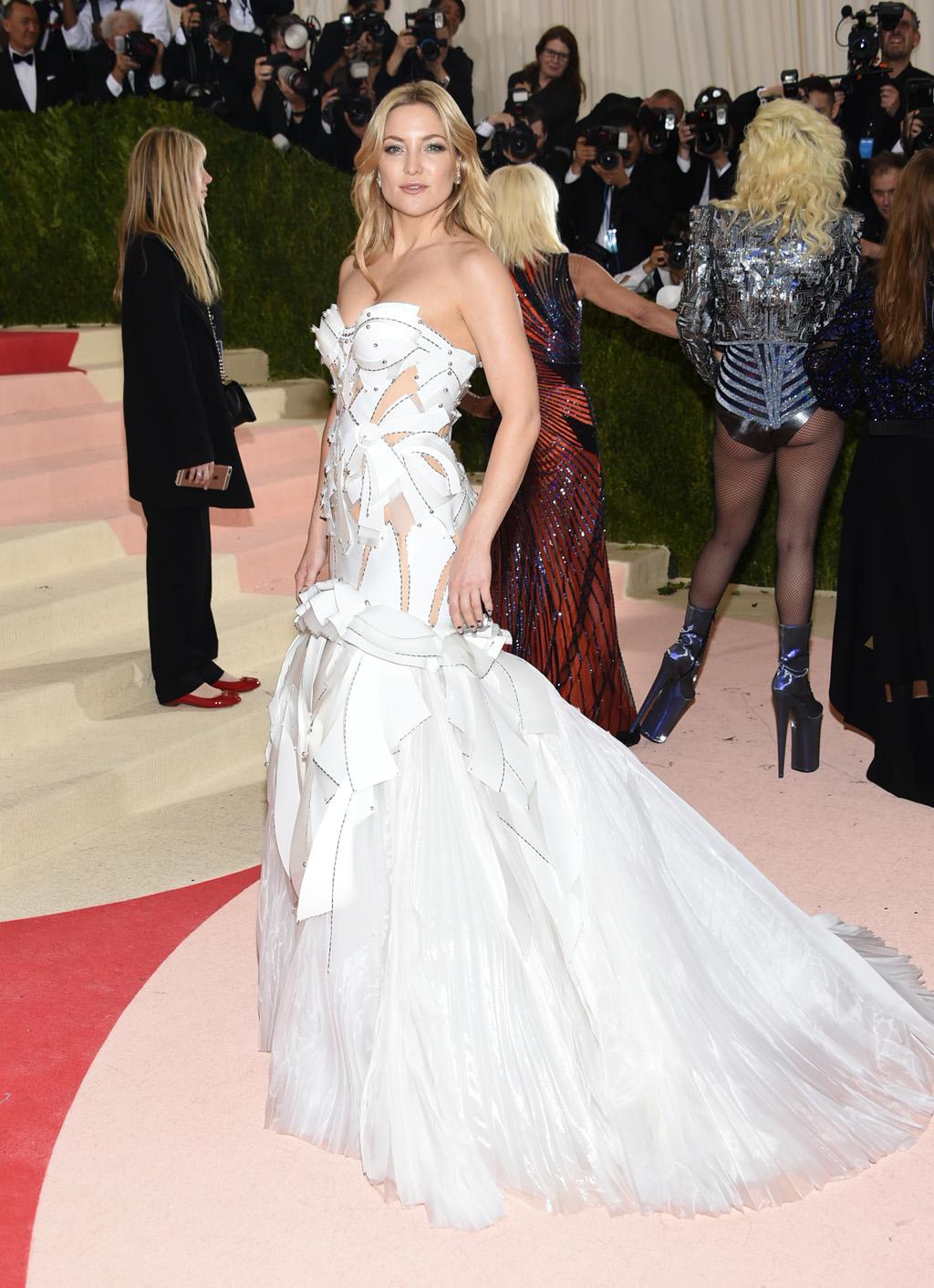 Kate Hudson en gala MET