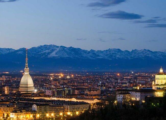 Turin Piamonte, simplemente Bella