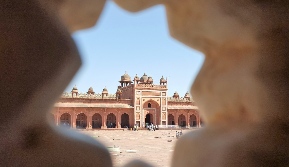 Nuestro viaje a la India: de camino a Agra, Fatehpur Sikri (La ciudad Perdida)