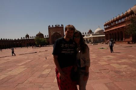 J&D en Fatehpur Sikri