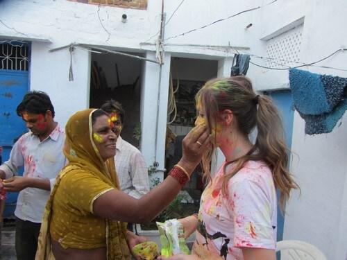 La Fiesta Holi de la India en primera persona