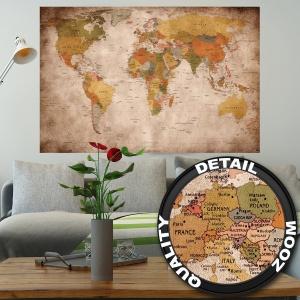 Mapa Mundial Pared