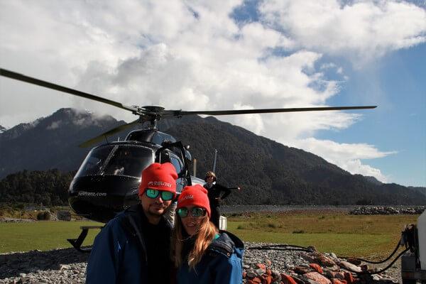 Luna de miel en Nueva Zelanda: franz joseph