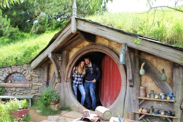 Luna de miel en Nueva Zelanda: Hobitton
