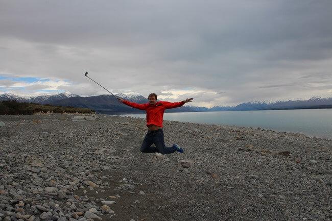 Lago Pukaki viaje de novios a Nueva Zelanda