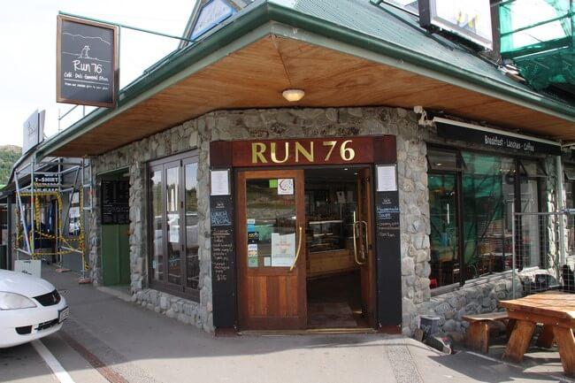 Bakery Run 76 en Lake Tekapo Nueva Zelanda