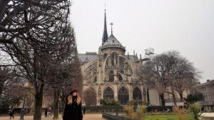 Viaje a Paris, Notre-dame 2