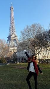 Viaje a Paris, Torre Eiffel