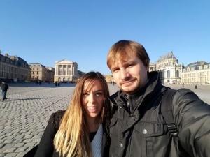 Viaje a Paris, Versalles selfie