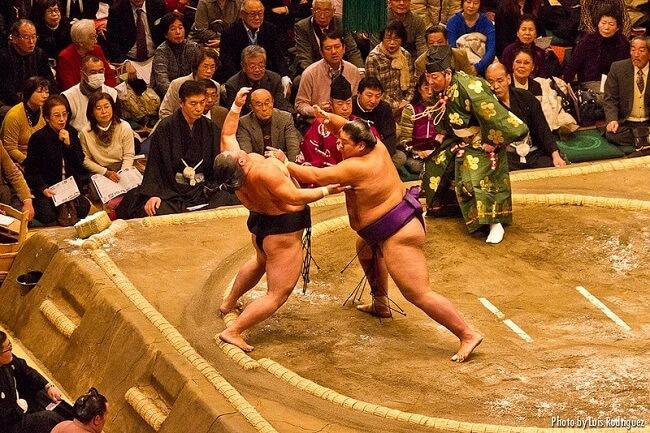 Torneo sumo viaje japón