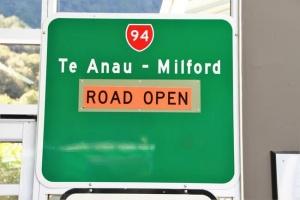 Carretera Te Anau a Milford Sound