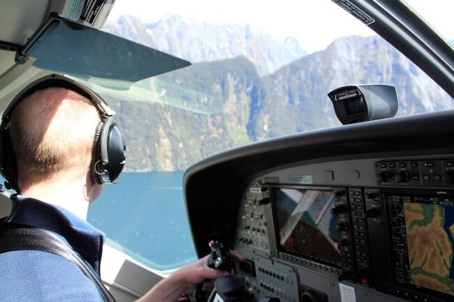 Milford Sound en avioneta