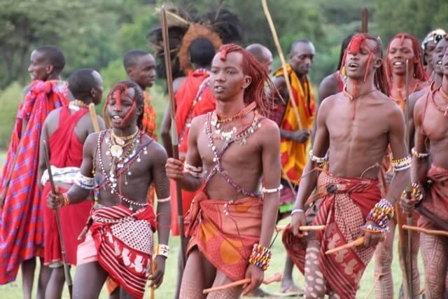 Safari en África: Masai Mara baile